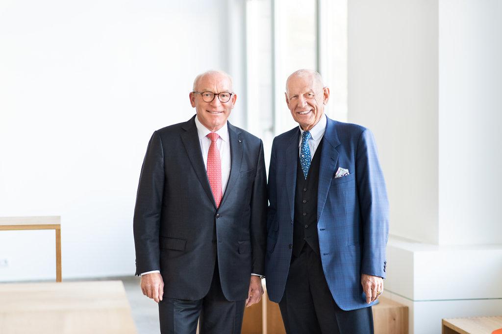 Prof. Dr. h. c.  Ludwig Georg Braun & Prof. Dr. Martin Viessmann